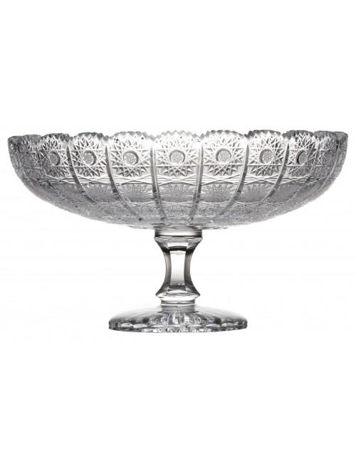 Crystal footed bowl 500PK, color clear crystal, diameter 305 mm