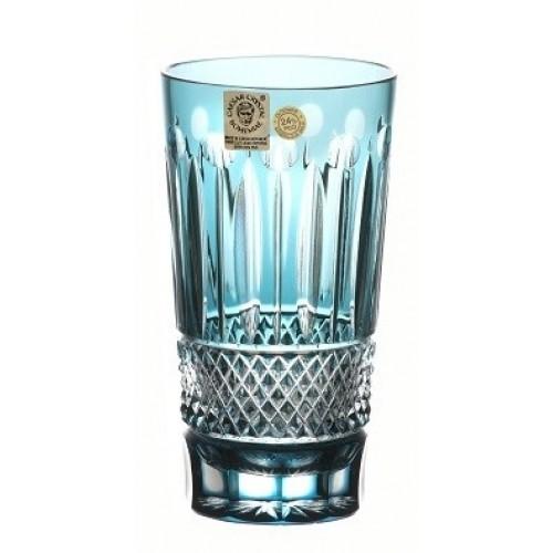Crystal Glass Tomy, color azure, volume 320 ml
