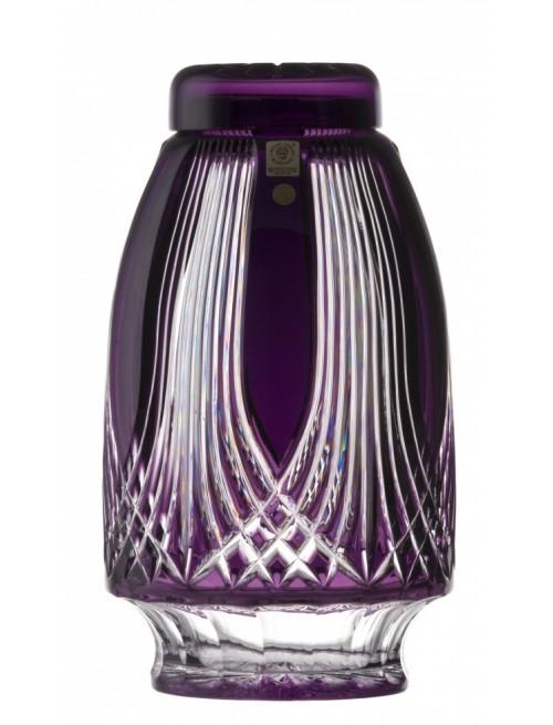 Crystal Urn Gothic, color violet, height 280 mm