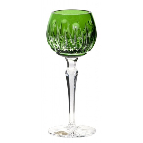 Crystal Wine Glass Heyday, color green, volume 170 ml