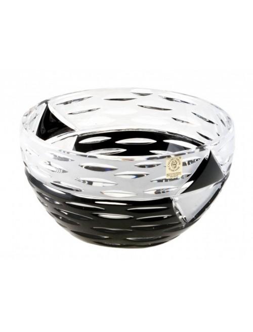 Crystal Bowl Mirage, color black, diameter 230 mm