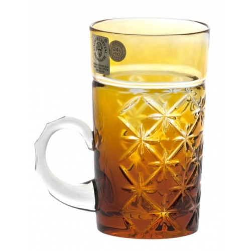 Crystal Cup Charles, color amber, volume 100 ml