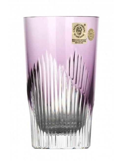 Crystal Glass Mikado, color violet, volume 240 ml