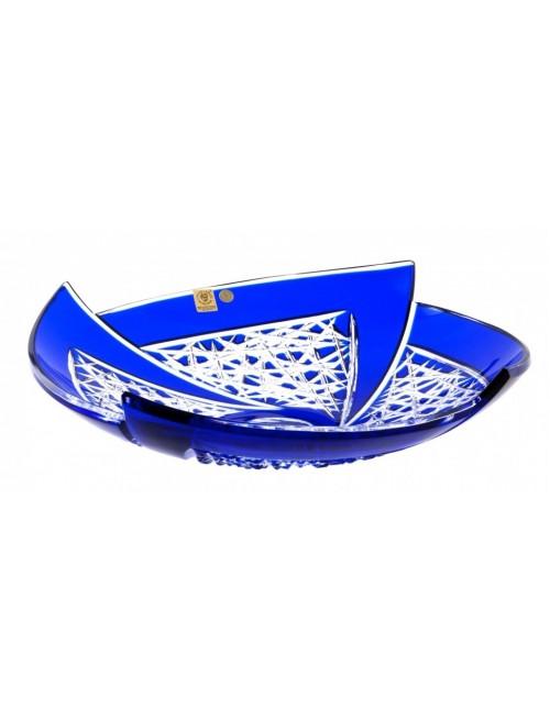 Crystal Bowl Fan, color blue, diameter 350 mm