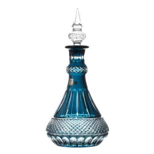 Crystal Bottle Tomy, color azure, height 1300 mm