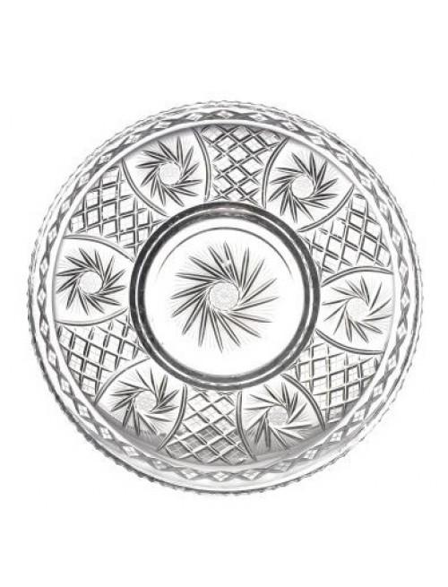 Crystal Plate Pinwheel, color clear crystal, diameter 440 mm