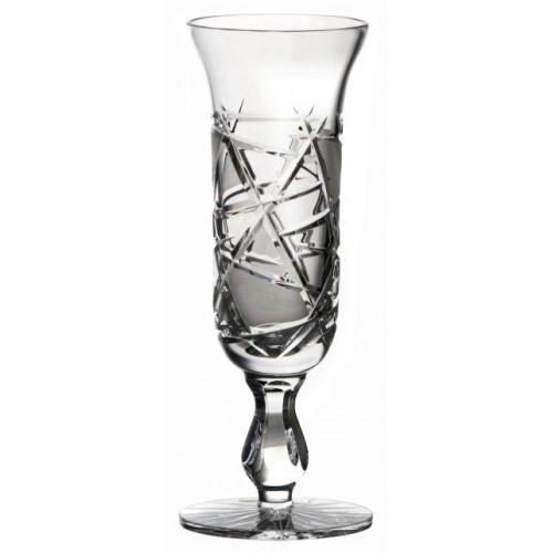 Crystal flute Mars, color clear crystal, volume 150 ml