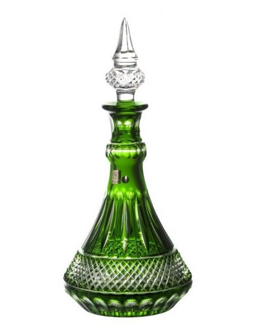 Crystal Bottle Tomy, color green, volume 1300 ml