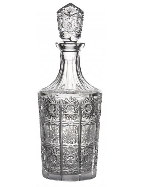 Crystal bottle 500PK, color clear crystal, volume 1000 ml