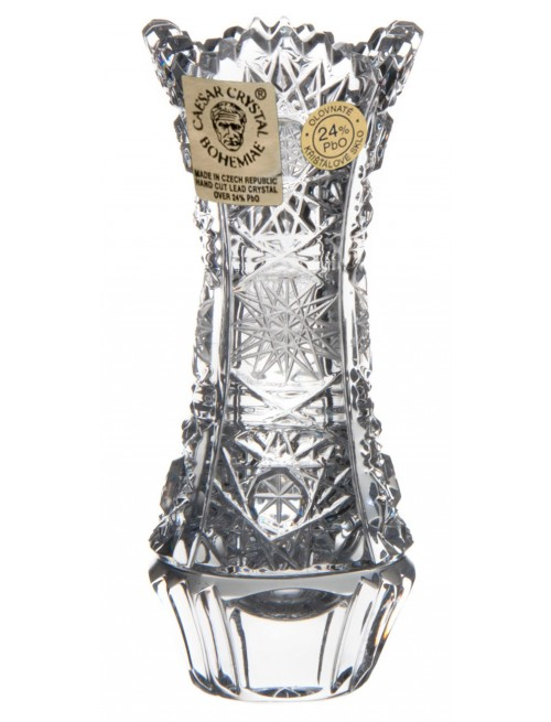 Crystal vase 500PK, color clear crystal, height 90 mm