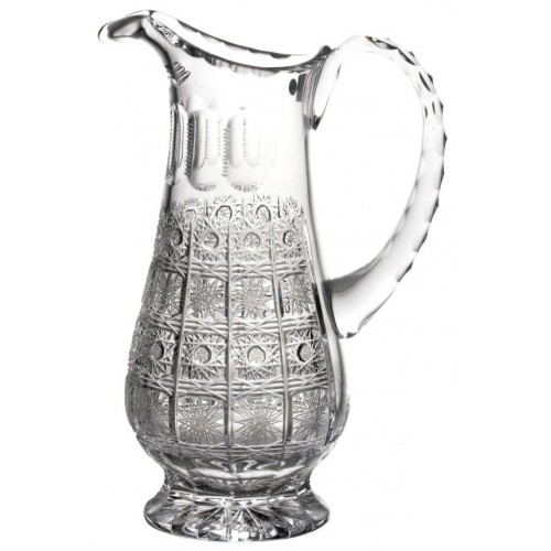 Crystal pitcher 500PK, color clear crystal, volume 1150 ml