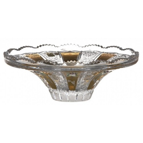 Crystal Bowl enamel, color clear crystal, diameter 255 mm