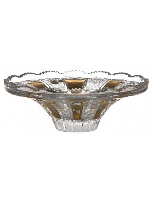 Crystal Bowl enamel, color clear crystal, diameter 255 mm