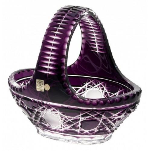 Crystal Basket Flake, color violet, diameter 230 mm