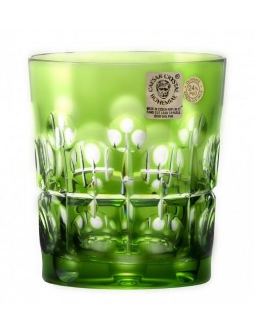 Crystal Glass Brisk, color green, volume 290 ml