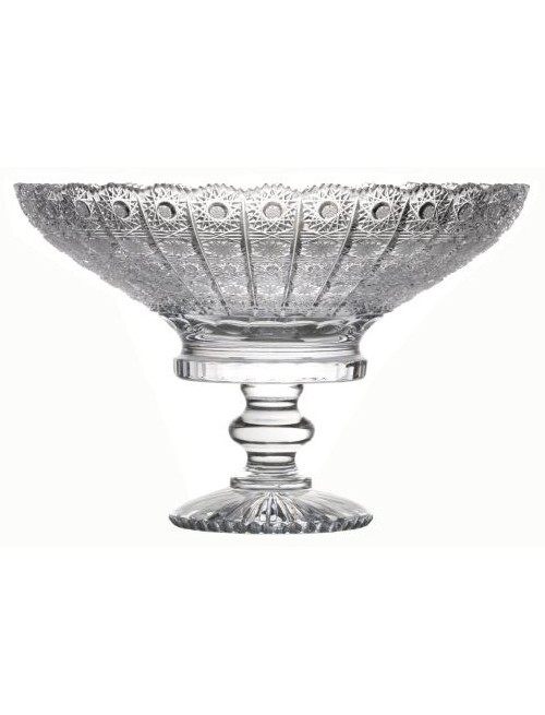 Crystal footed bowl 500PK, color clear crystal, diameter 330 mm