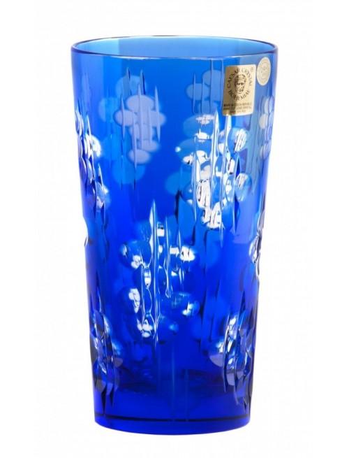 Crystal Glass Silentio, color blue, volume 320 ml