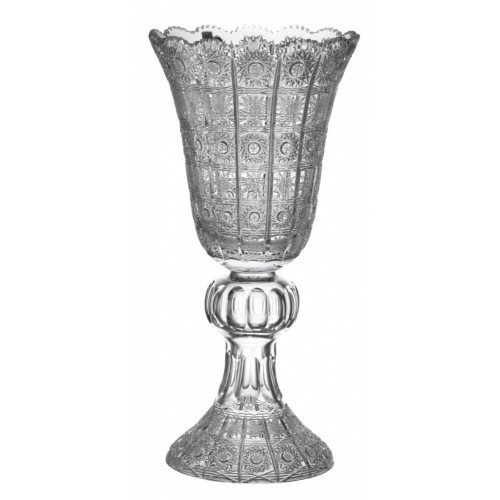 Crystal Vase 500PK, color clear crystal, height 505 mm