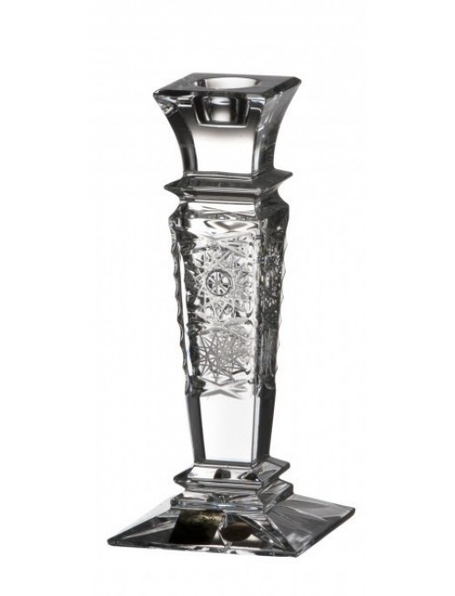 Crystal Candlestick Wista 500PK, color clear crystal, height 150 mm