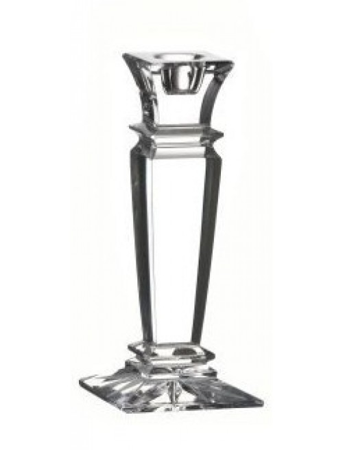 Crystal Candlestick WISTA, color clear crystal, height 150 mm