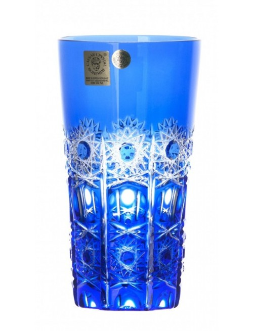 Crystal Glass Petra, color blue, volume 320 ml