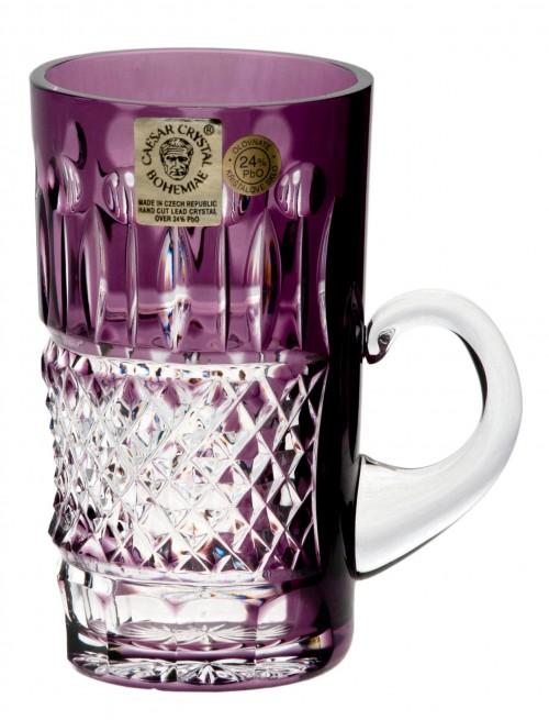 Crystal cup Tomy, color violet, volume 100 ml