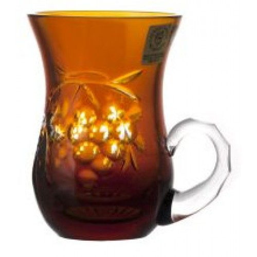 Crystal Cup Grapes, color amber, volume 100 ml