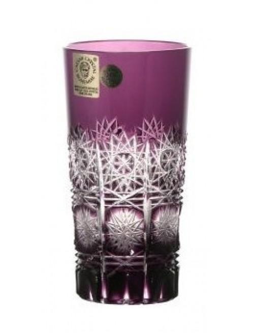 Crystal Glass Paula, color violet, volume 100 ml