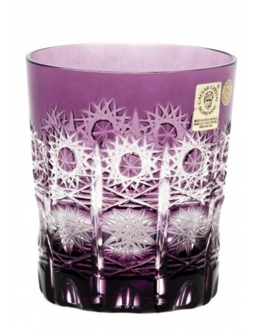 Crystal Glass Paula, color violet, volume 290 ml