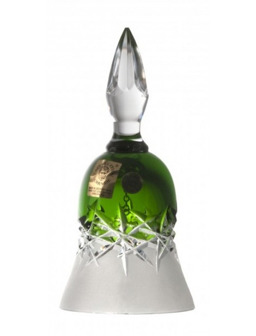 Crystal Bell Hoarfrost, color green, height 126 mm