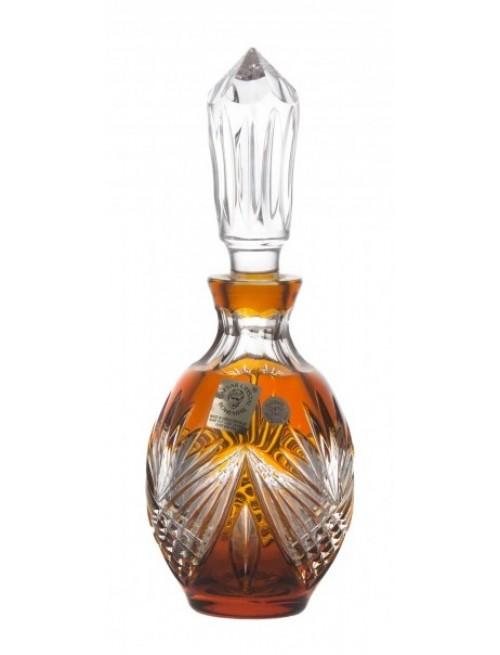 Crystal Perfume Bottle Janette, color amber, volume 130 ml