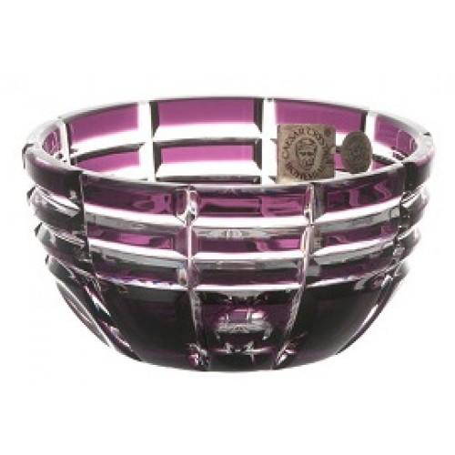 Crystal Bowl Nora, color violet, diameter 90 mm