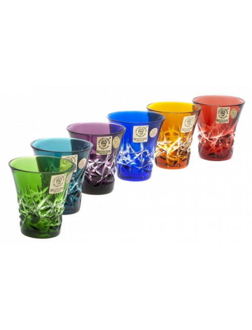 Crystal Set Shot Glass Hoarfrost, color mix, volume 45 ml