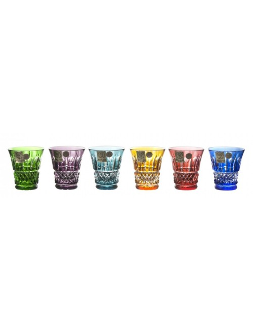Crystal Set Shot Glass Tomy, color mix, volume 45 ml