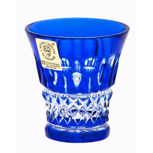 Crystal Shot Glass Tomy, color blue, volume 45 ml