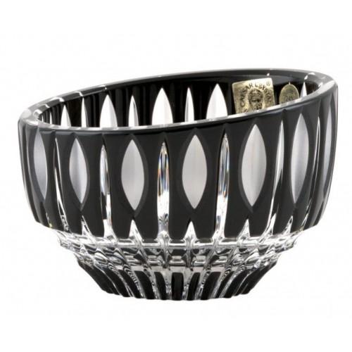 Crystal Bowl Denver, color black, diameter 96 mm