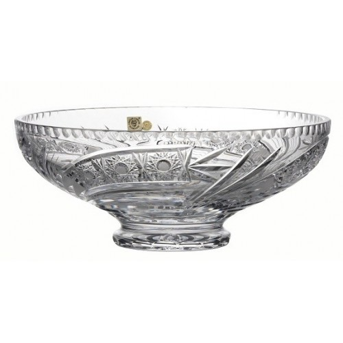Crystal Bowl Comet, color clear crystal, diameter 305 mm