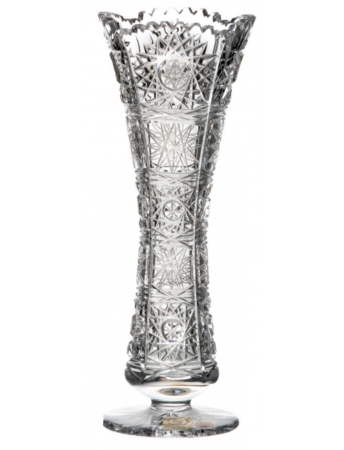 Crystal vase 500PK, color clear crystal, height 205 mm