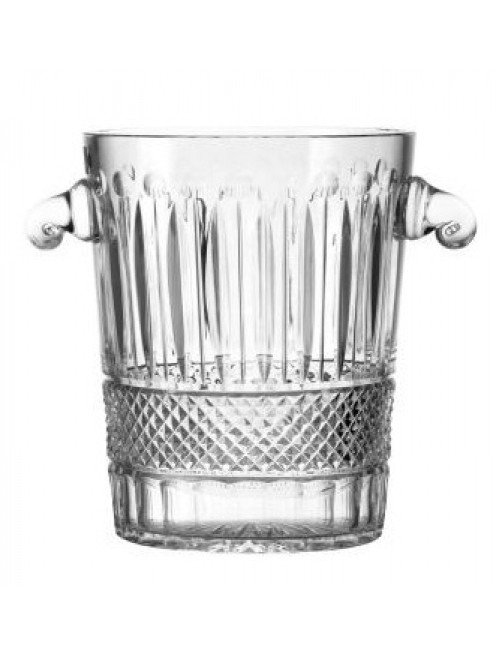 Crystal Ice Bucket Tomy, color clear crystal, height 260 mm