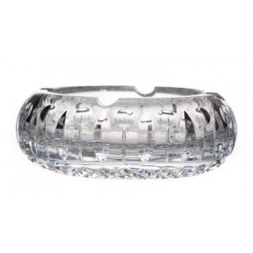 Crystal Ashtray Tomy, color clear crystal, diameter 155 mm