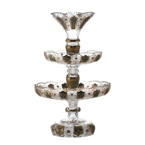 Crystal Etager enamel, color clear crystal, height 590 mm