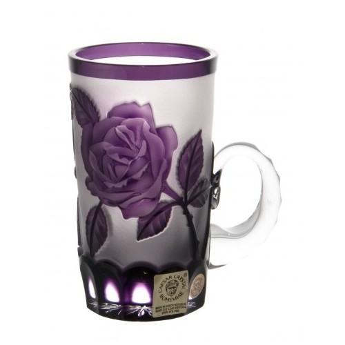 Crystal Cup Rose, color violet, volume 100 ml