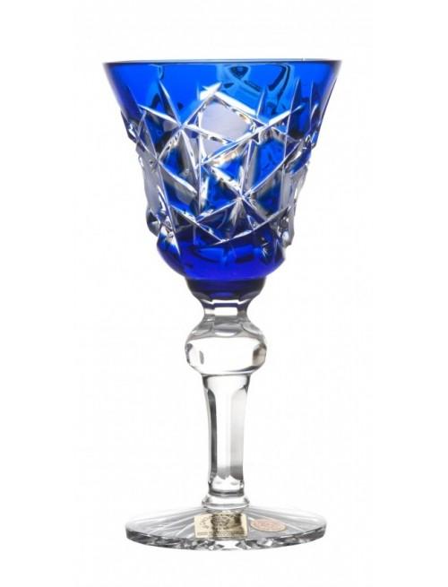 Crystal Shot Glass Mars, color blue, volume 50 ml
