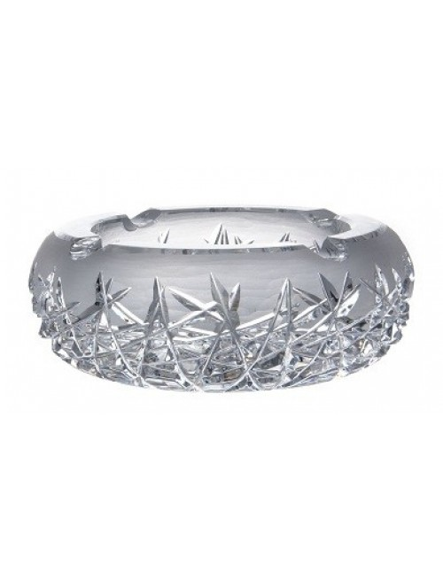 Crystal Ashtray Hoarfrost  , color clear crystal, diameter 205 mm