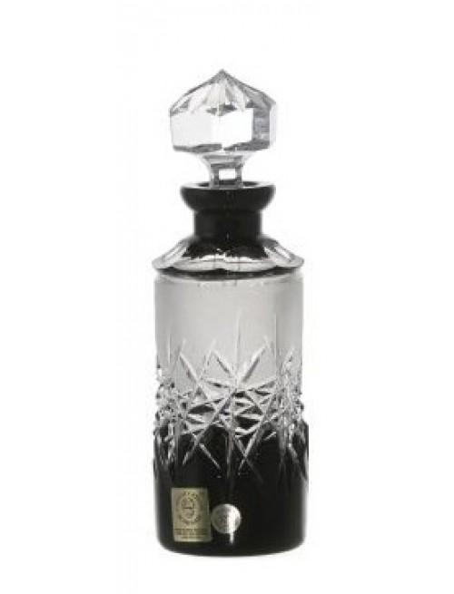 Crystal Perfume Bottle Hoarfrost, color black, volume 90 ml
