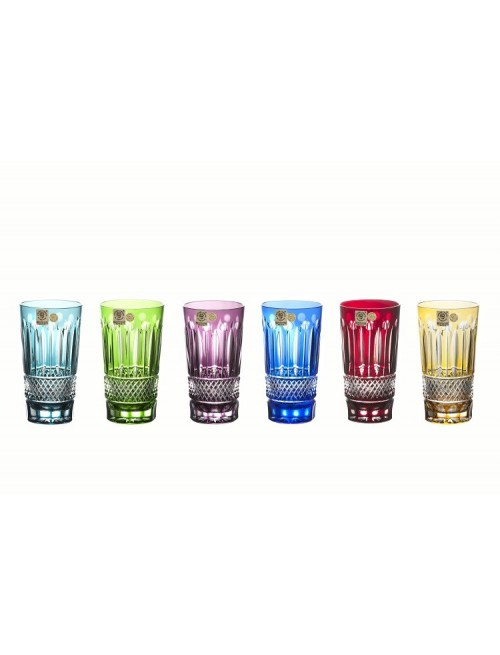 Crystal Set Glass Tomy, color mix, volume 320 ml