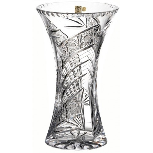 Crystal Vase Comet I, color clear crystal, height 255 mm