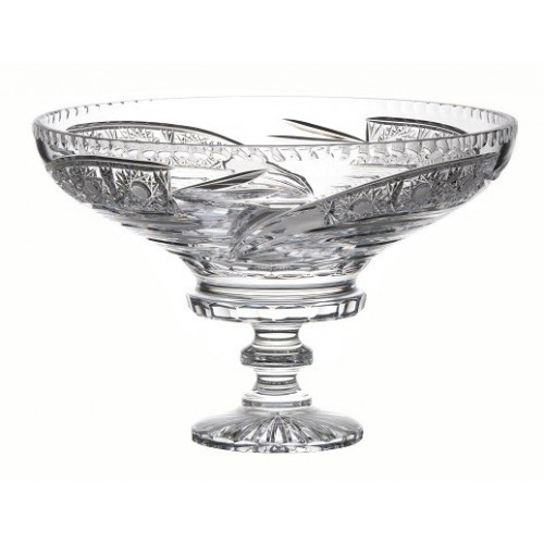 Crystal Footed Bowl Comet, color clear crystal, diameter 355 mm