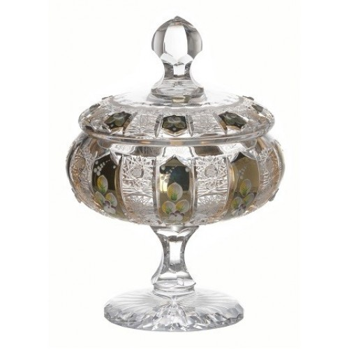 Crystal Box enamel, color clear crystal, height 262 mm
