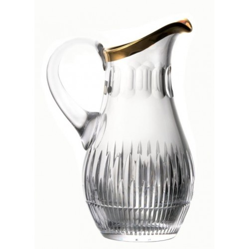 Crystal pitcher Thorn, color clear crystal, volume 1500 ml